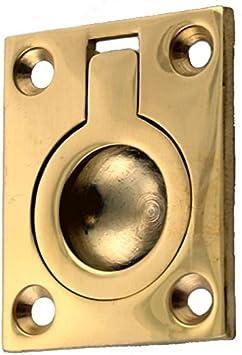 Metal Drawer Pulls Vintage Hardware 2 Small Round DIY Handles