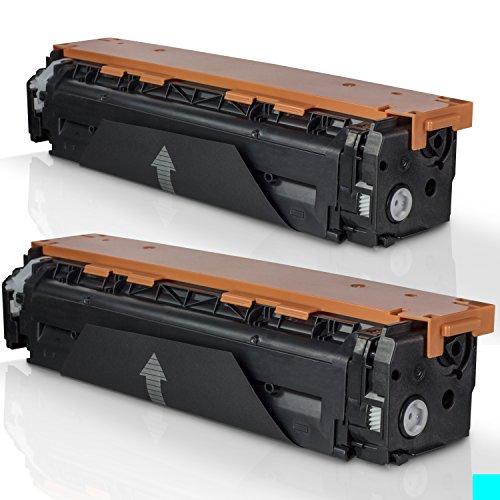 002 Premium Toner Cartridge (OfficeSmartInk HP 125A Cyan Compatible Premium Cartridge for HP Color LaserJet CM1312 MFP, CM1312nfi, CP1215, CP1515n, CP1518ni (HP CB541A/CE321A/CF211A) Printers - 2PK)
