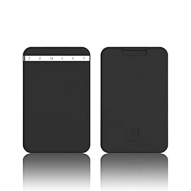 c3a54e22058 ZENLET The Ingenious Wallet BLACK with RFID Blocking Card at Amazon ...