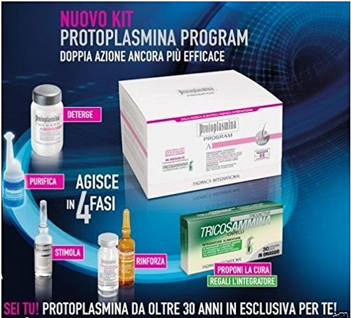 3 opinioni per Protoplasmina Kit Program anticaduta rinforzante nuovo 2016 + Integratore 30
