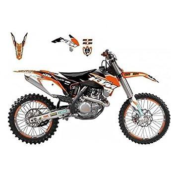 Kit déco blackbird dream graphic iii ktm sx,f/exc , Blackbird 78177134