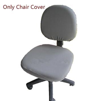 amazon com office desk rotating chair seat slipcover doptou