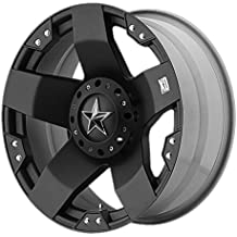 XD Series by KMC Wheels XD775 Rockstar Matte Black Wheel (20x8.5/5x114.3, 120mm, 35mm offset)