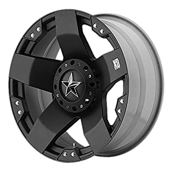 Image of Car XD Series by KMC Wheels XD775 Rockstar Matte Black Wheel with (17x8'/5x114.3mm, +35mm offset)