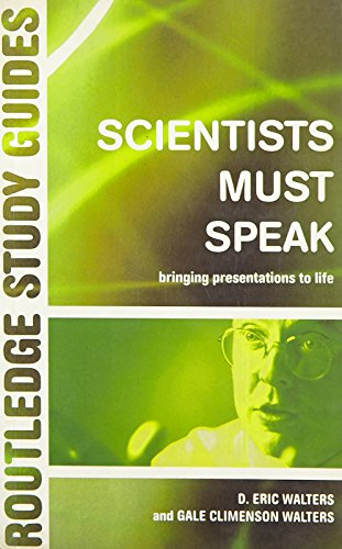 Scientists Must Speak (Routledge Study Guides)