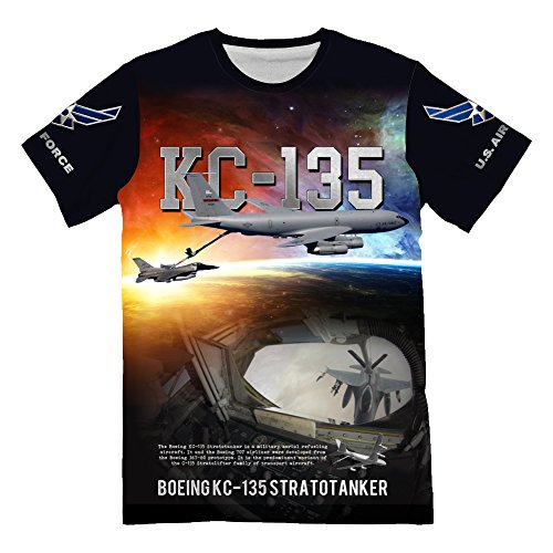 (Personalized USAF Air Force Boeing KC-135 Stratotanker T-Shirt for Mens 3d Allover Printed)