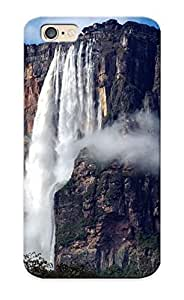 New Arrival Case Cover With UGeCUzX1069QdvqJ Design For Iphone 6- Angel Falls Nature Landscapes Waterfall Trees Jungle Mountain Mist Spray Rivers Sky Clouds Scenic