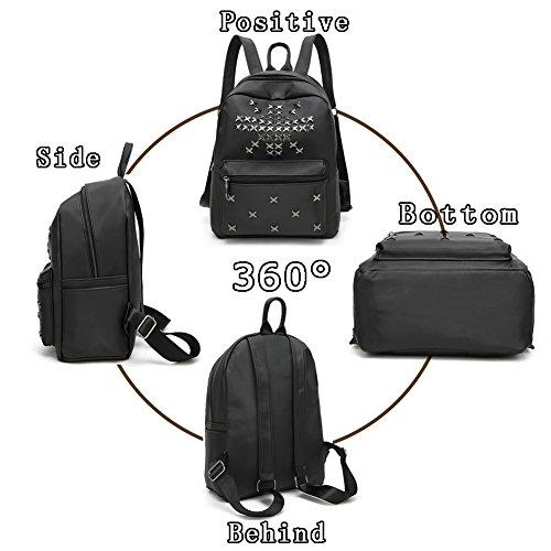 G-AVERIL GA1025-B - Bolso mochila  para mujer negro negro Black1