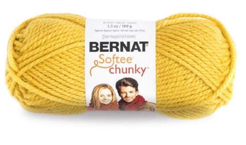 Bulk Buy: Bernat Softee Chunky Yarn (6-Pack) Glowing Gold 161128-28607 by Bernat (Image #2)