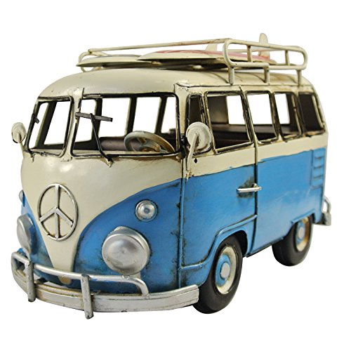 nava-vintage-blue-white-vw-van-bus-surf-board-props-metal-model-photographing-art