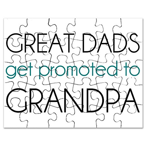 CafePress - Great Dads Get Promoted to Grandpa - Jigsaw Puzzle, 30 pcs.