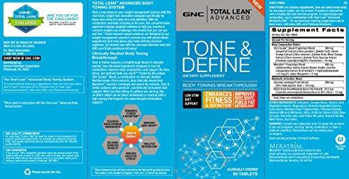 GNC Total Lean Advanced Tone Define 60 Tablets
