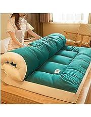 Japanese Floor Futon Mattress Tatami Floor Mat Portable Camping Mattress Kids Sleeping Pad Foldable Roll Up Floor Couch Bed Mattress