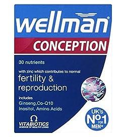 Vitabiotics Wellman Conception - 30 Tablets - 2 Pack
