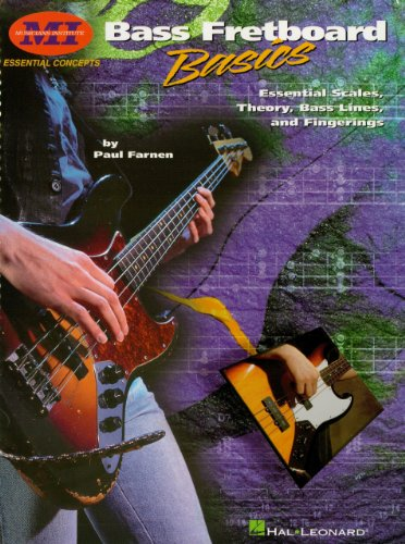 Scales Basic Guitar (Bass Fretboard Basics: Essential Scales, Theory, Bass Lines & Fingerings (Essential Concepts))