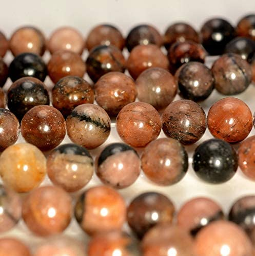 [해외]8MM Rare Chiastolite Gtone Round Loose Beads 7.5 Beading Jewelry Making DIY Crafting Arts & Sewing by Perfect Beads Store / 8MM Rare Chiastolite Gtone Round Loose Beads 7.5 Beading Jewelry Making DIY Crafting Arts & Sewing by Perfe...