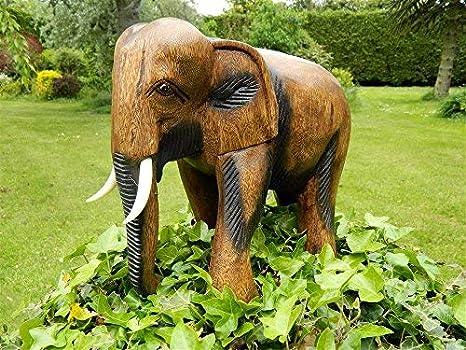 Decorazioni Da Giardino : Homezone decorazione da giardino elefante grande in piedi elefante