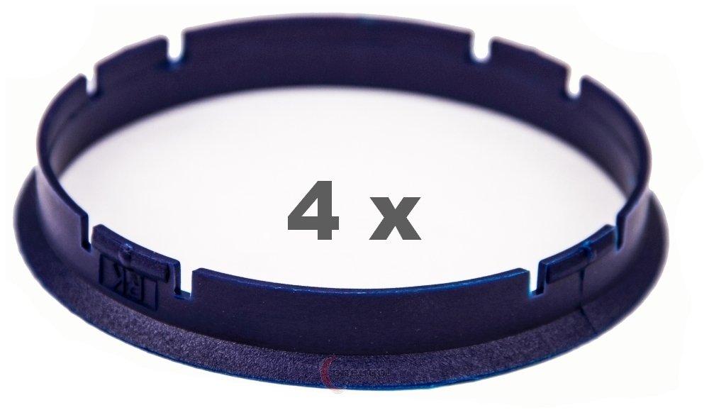 4/X Anello Di Centraggio 73.0/mm a 70.3/mm blu scuro//Blu scuro