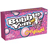 BUBBLE YUM Bubble Gum, Original, 10 Piece Package (Pack of 24)