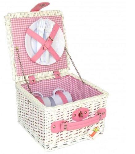 Picknickkorb Kinder Pink