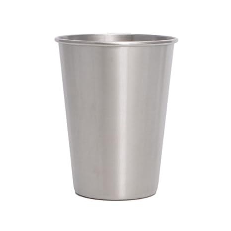Junlinto, 500 ML 304 Tazas de Vaso de Acero Inoxidable Vasos ...