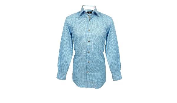 Circle of Gentleman Camisa Ridley con diseño de círculo de Caballero Azul 4391: Amazon.es: Ropa y accesorios