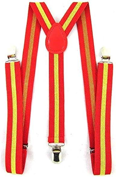LIRIO Tirantes Bandera de España. Ajustables. Anchura: 25 mm ...
