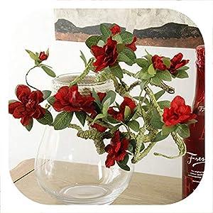 Memoirs- Artificial Silk Flower Branch Fake Flower Arrange Table Wedding Home Decor Party Accessory Fleur Artificielle Flores,E 33