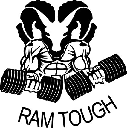 Amazon Com Ram Tough Hemi Diesel Dodge White Sticker 8 5 Width By
