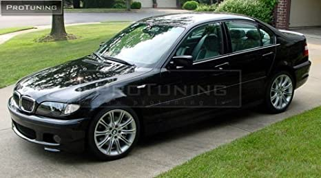BMW E46 98-05 Parachoques delantero M-Pack estilo (Sedán, Touring) ABS: Amazon.es: Coche y moto