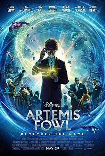 Artemis Fowl - Authentic Original 27x40 Rolled Movie Poster at Amazon's  Entertainment Collectibles Store