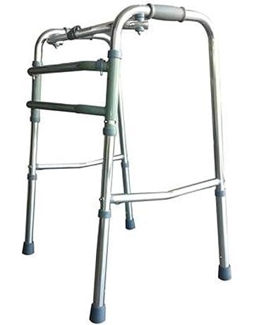 Mobiclinic Andador para Ancianos sin Ruedas | Aluminio Ultraligero | Regulable en Altura| Plegable |