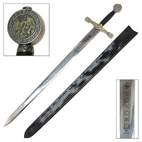 King Arthur Excalibur Sword Steel Medieval Longsword