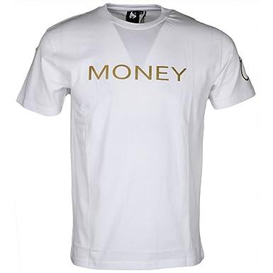 Money Clothing JT22001 London Cotton White T-Shirt XXL  Amazon.co.uk ... b490666a68d5