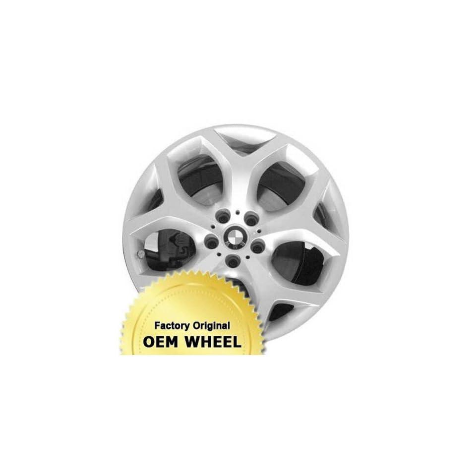 BMW X5,X6 20X11 5 Y SPOKES Factory Oem Wheel Rim  SILVER   Remanufactured Automotive
