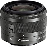 Canon 15-45mm f/3.5-6.3 IS STM Lens (Black) - International Version (No Warranty)