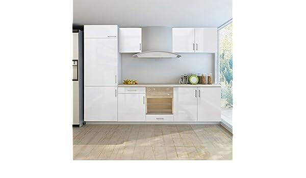 Mueble de cocina para nevera empotrable (7 unidades, 270 cm ...