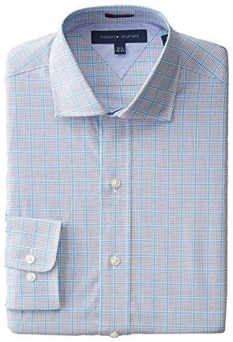 Tommy Hilfiger Men's Slim-Fit Graphic-Check Shirt