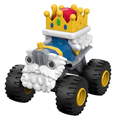 Diecast Monster Truck (Fisher-Price Nickelodeon Blaze & the Monster Machines King Truck Vehicle)