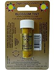 Sugarflair Autumn Gold Edible Blossom Tints Food Colour Colouring Dust Powder
