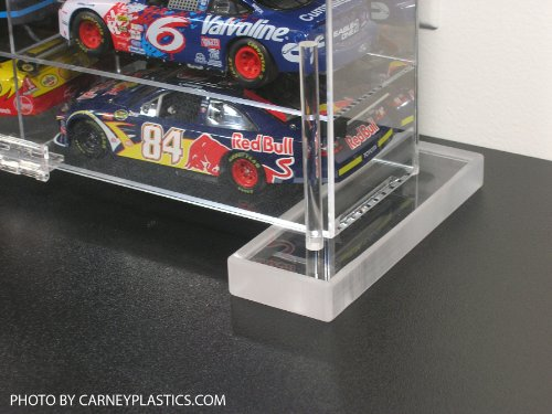 Nascar Shelf - Diecast Display Case 1:18 scale fits 10 large cars by Carney Display Case