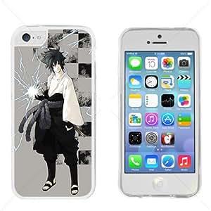Naruto Sasuke Manga Anime Comic Apple iPhone 5C Transparent Gel TPU Case Cover