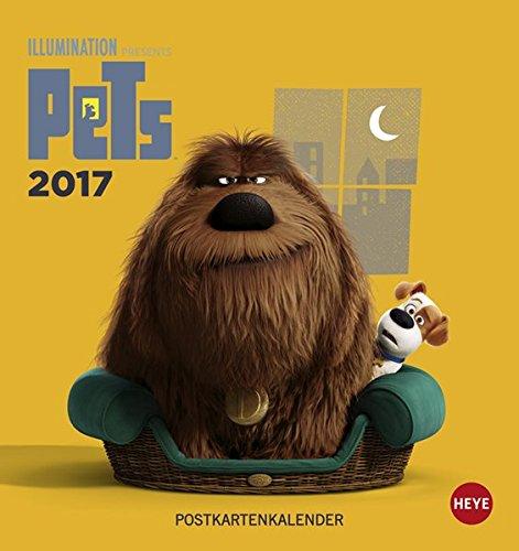 Pets Postkartenkalender - Kalender 2017