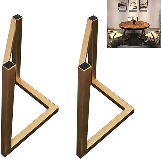 Furniture Legs Lot De 2 Pieds De Table En Métal En Forme De