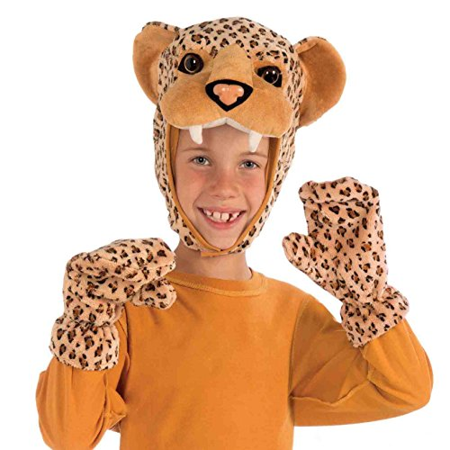 Forum Novelties Leopard Hood and Gloves Child Costume (Cheetah Costumes For Adults)