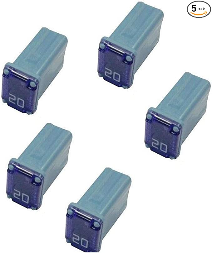 FMM MCASE Type Made in Japan 5 Flosser 608830 30 Amp Micro Cartridge Fuses