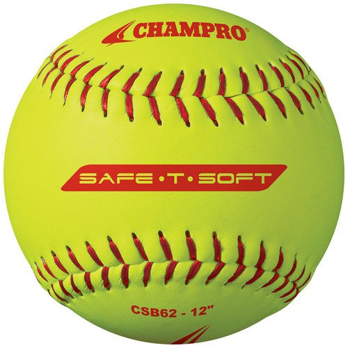 Champro Safe-T-Softball Cover (Optic Yellow, 12-Inch), Pack of 12 by Champro