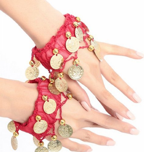 Red Ankle Cuff - 5