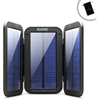 ReStore PX6000 Folding Solar Charger & 6000mAh Power Bank w/ Portable Design & Built-In Kickstand by ReVIVE - Works with GoPro Hero5 Black , Hero5 Session , Hero Session & More Action Cameras!