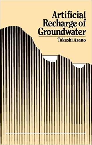 Book Artificial Recharge of Groundwater